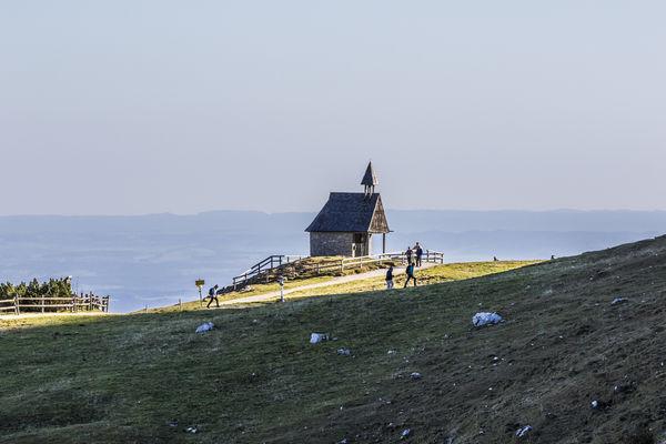 Steinlingkapelle auf der Kampenwand-©Chiemsee-Alpenland Tourismus