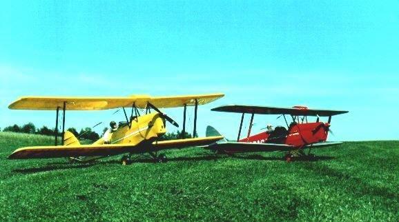 Flugzeuge des Aeroclub Attendorn