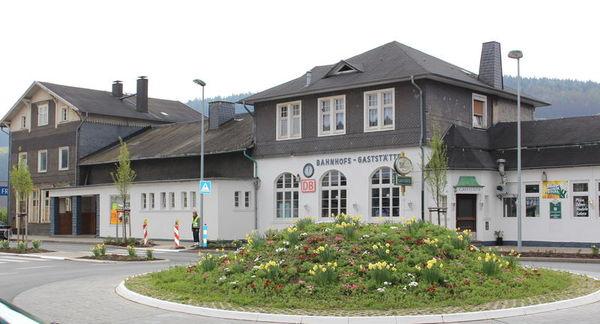 Der Bahnhof in Attendorn