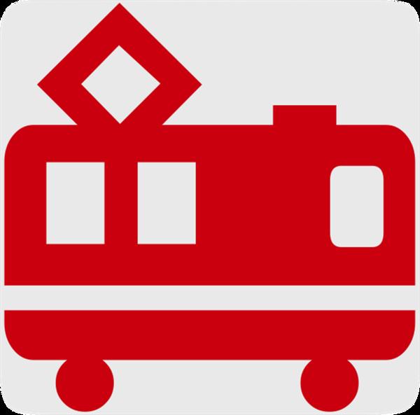 Symbol Bahnhof