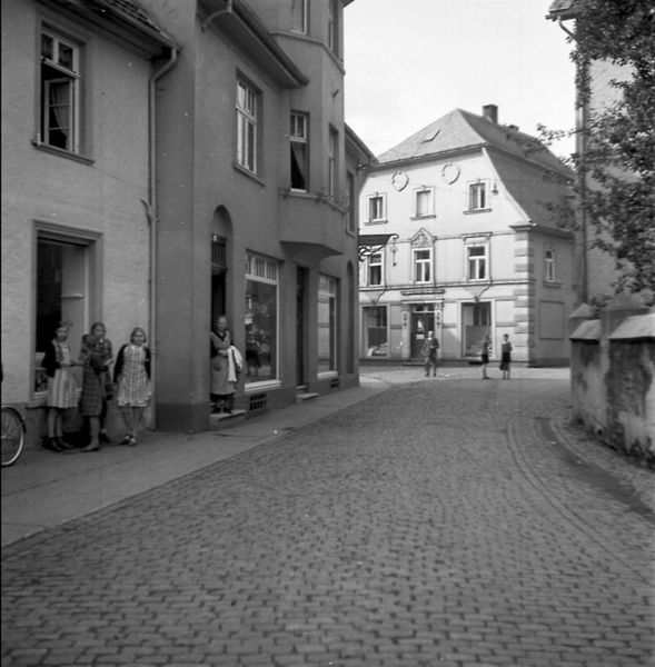 Kaufhaus Böheimer vor dem 2. Weltkrieg