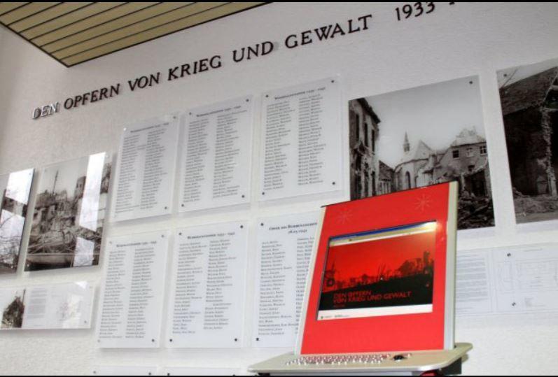 Gedenkstätte im Rathaus