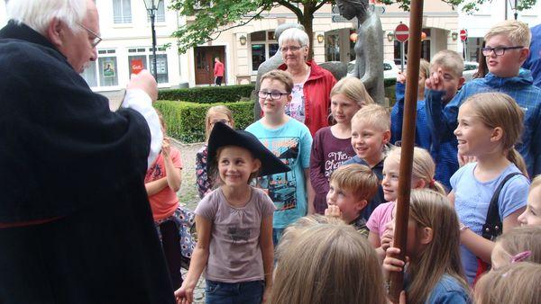Kinderstadtführung in Attendorn
