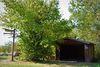 ... und für weniger schöne Tage eine Schutzhütte