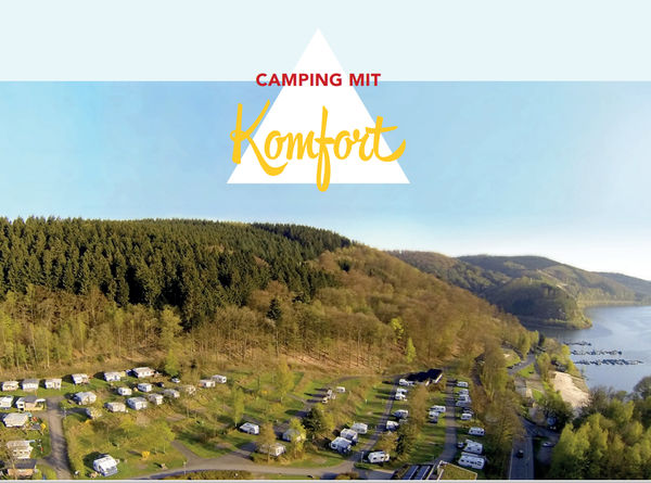 Der Campingplatz Waldenburger Bucht