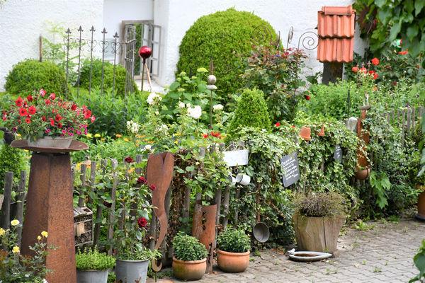 Liebe zum Detail und grüner Daumen
