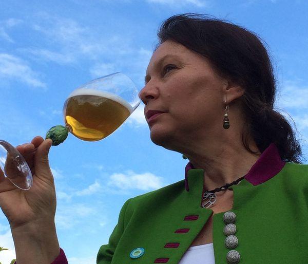 Experte in Sachen Bier: Die Biersommeliere Hildegard Heindl