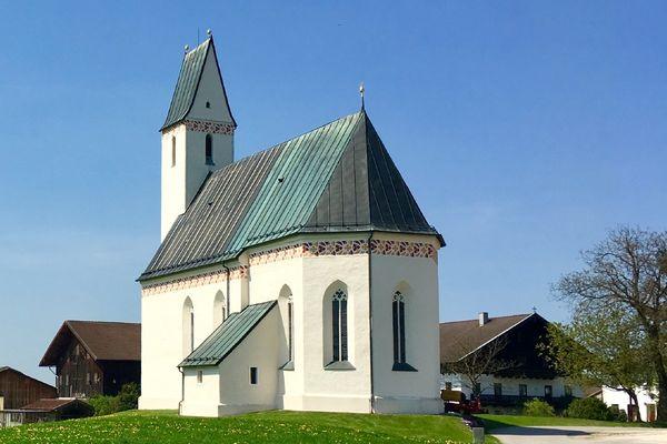 Filialkirche St. Jakob d. Ältere in Schönberg -©Chiemsee-Alpenland Tourismus