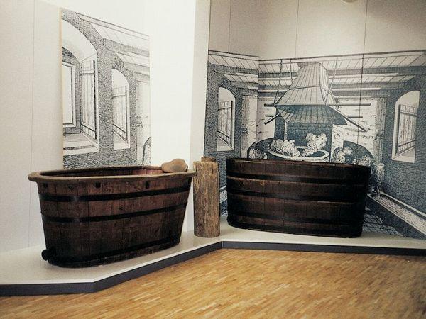 Geschichte der Thermalquellen Bad Abbachs im Museum Bad Abbach