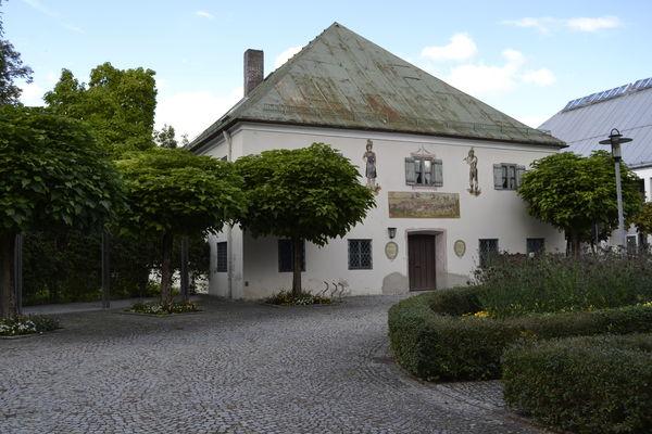 Außenansicht des Heimatmuseums Bad Aibling