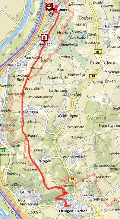 Himmelreich-Jakobusweg für ALLE von Bad Bellingen nach Efringen-Kirchen