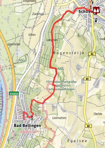 Himmelreich-Jakobusweg für ALLE von Schliengen nach Bad Bellingen