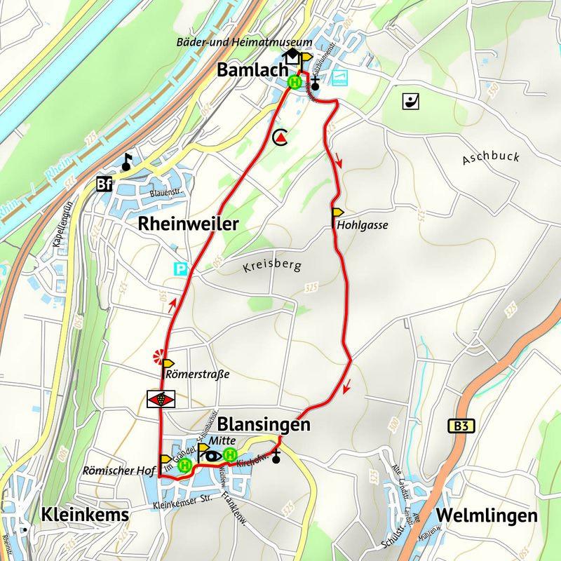 Wanderung nach Blansingen