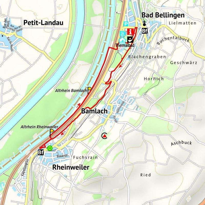 Wanderung nach Rheinweiler