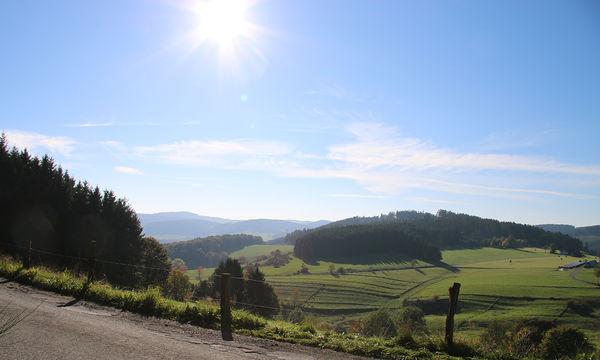 Blick von der Via Adrina
