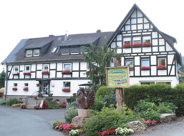 Das Hauptgebäude des Biohofes