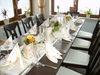 gedeckter Tisch Landgasthof Restaurant Laibach