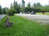 Impression des Wanderparkplatzes Kühhude.