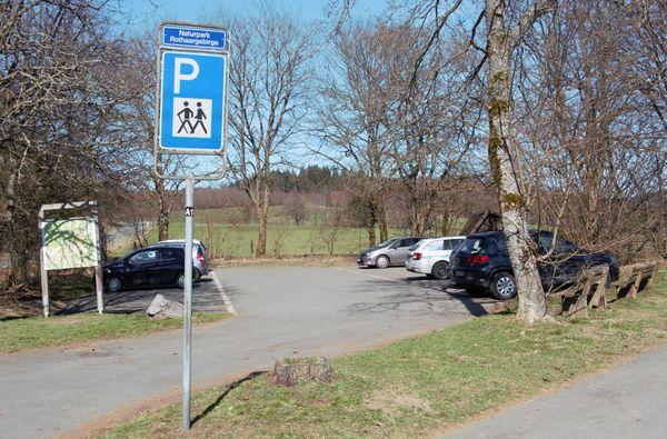 Parkfläche Parkplatz Sengelsberg