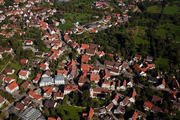 Luftaufnahme von Bad Boll