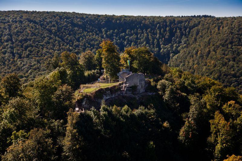 Burgruine Hiltenburg bei Bad Ditzenbach