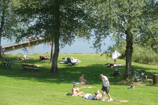 Strandbad am Pelhamer See.