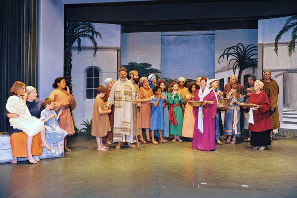 Paulus-Aufführung im Volkstheater Bad Endorf.