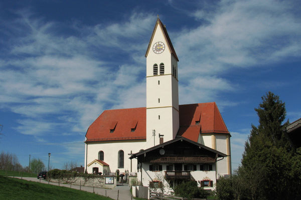 Filial & Wallfahrtskirche Maria Morgenstern in Lippertskirchen