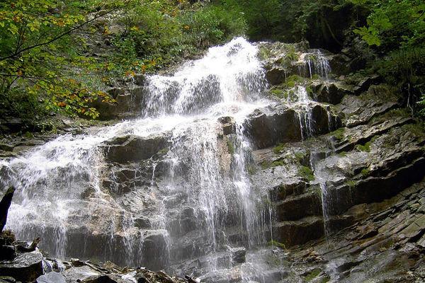 Wasserfall an der Litzeldorfer Schwefelquelle-©Lothar Stolte