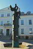 Tröpfelbrunnen vor dem Rathaus, Foto: HERREPIXX.DE