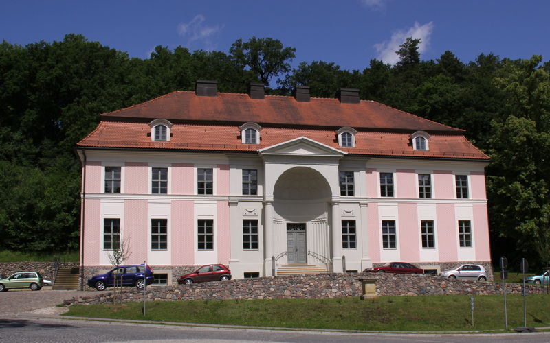Kurmittelhaus in Bad Freienwalde, Foto: Michael Schön