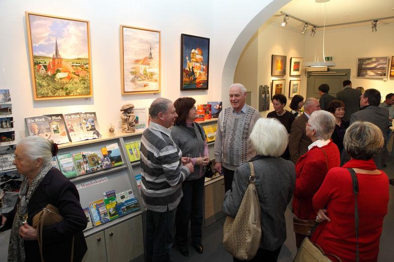 Galerie der Tourist-Information Bad Freienwalde, Foto: TI Bad Freienwalde