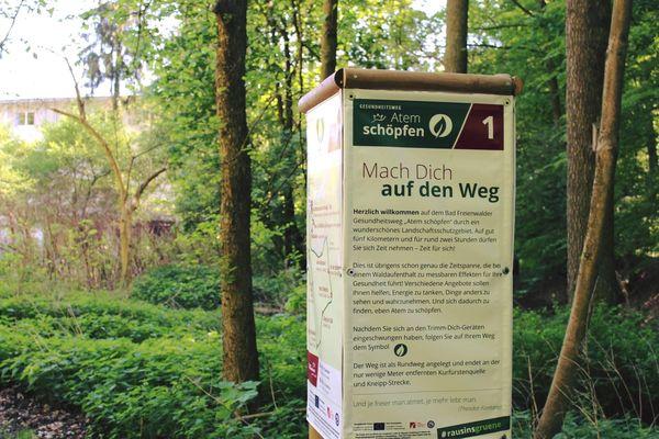 Gesundheitsweg, Foto: Bad Freienwalde Tourismus GmbH