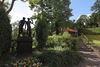 Skulptur im Schosspark Bad Freienwalde, Foto: Steffen Herre