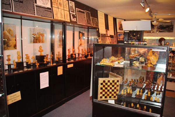 Sammlung im Bernstein-Museum