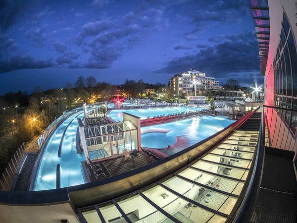 Europa Therme - Abendstimmung