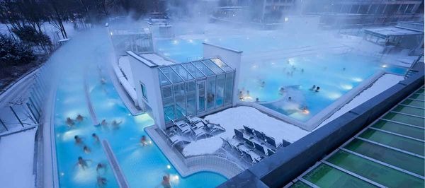 Europa Therme Bad Füssing aus der Luft