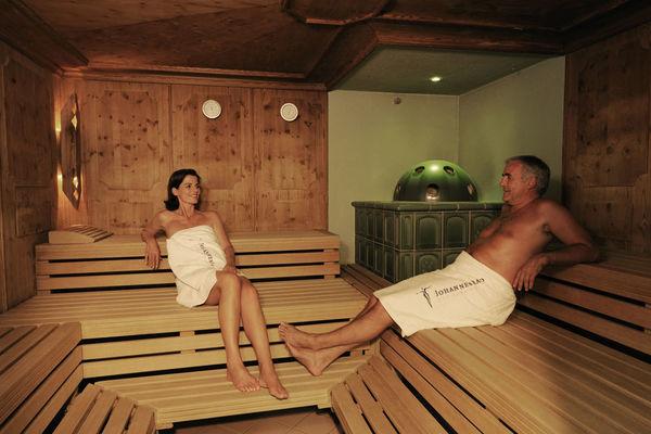 Finnische Sauna in der Johannesbad Thermenwelt Bad Füssing