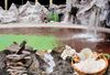 Die Salzwasser Felsenlagunge der Johannesbad Therme in Bad Füssing