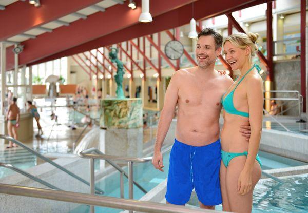 Badefreuden genießen, sich entspannen und gleichzeitig etwas für die Gesundheit tun.