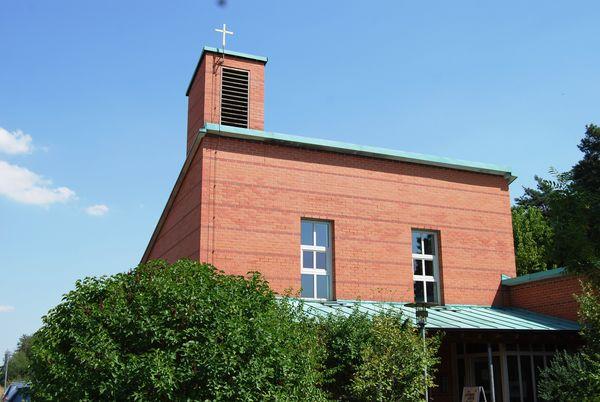Die evangelische Kurkirche in Bad Gögging
