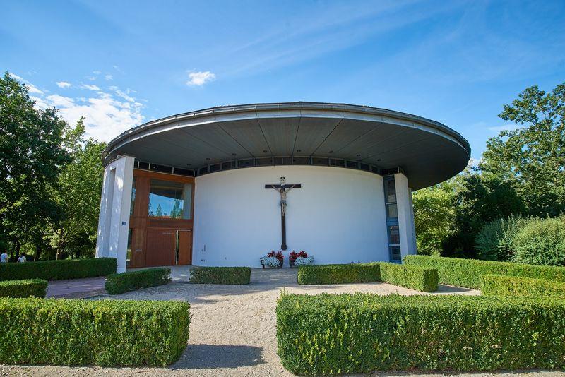 Katholische Kurkirche in Bad Gögging