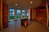 Die imposante Arena-Sauna bietet Platz für bis zu 60 Personen