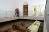 Römisches Museum für Kur- und Badewesen in der Kirche St. Andreas in Bad Gögging im Hopfenland Hallertau