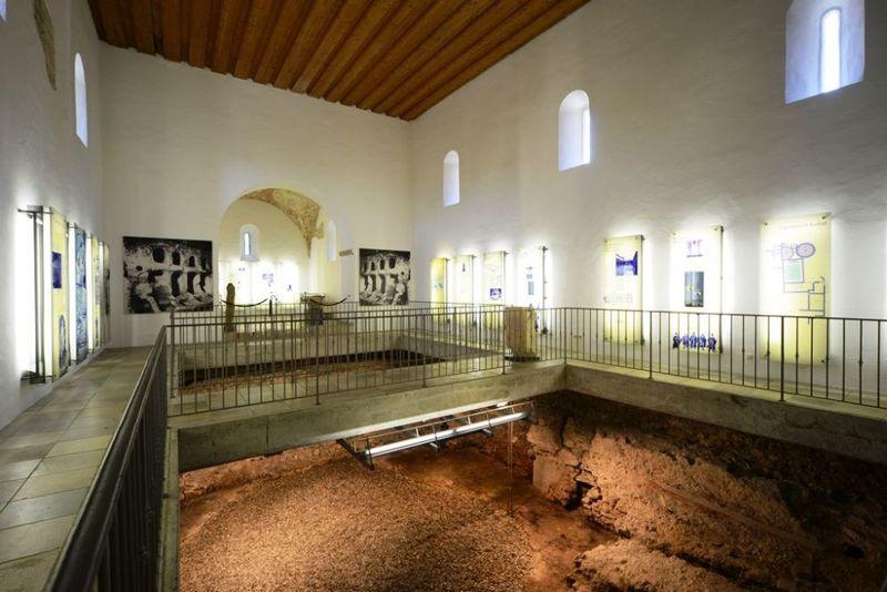 Römisches Museum für Kur- und Badewesen in Bad Gögging im Hopfenland Hallertau