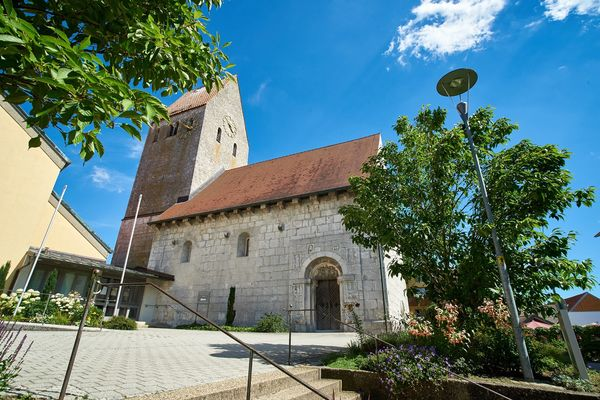 Die Pfarrkirche St.Andreas in Bad Gögging