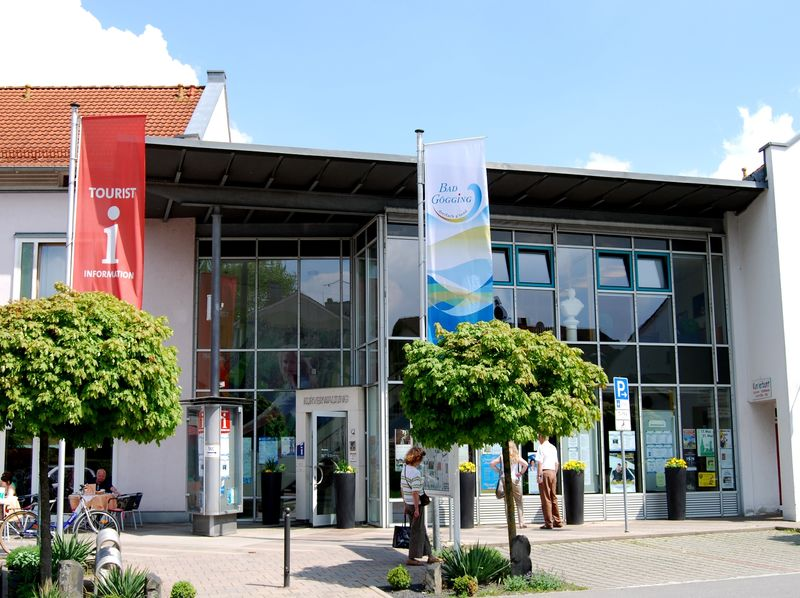 Die Tourist-Information Bad Gögging in der Heiligenstädter Straße