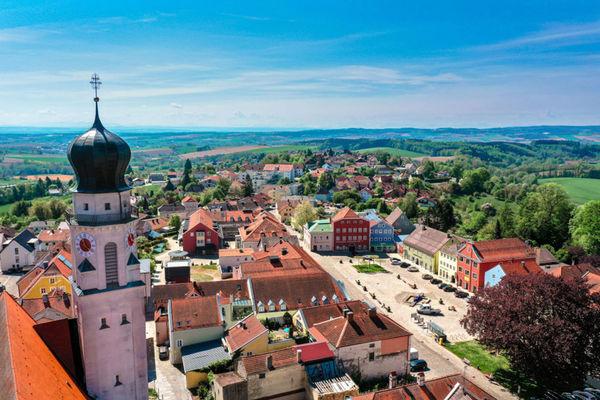 Bad Griesbach Altstadt mit Marktplatz