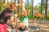 Workout im Bewegungsparcours Bad Griesbach