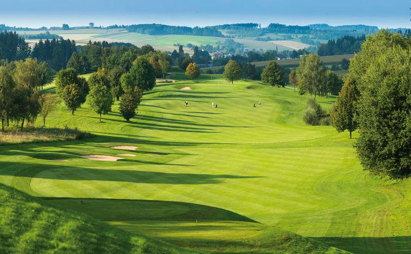 Der Golfplatz Brunnwies des Golf Resorts Bad Griesbach